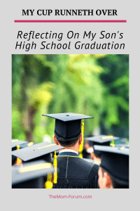 My son's high school graduation...A time filled with both relief and anxiety, hello's and goodbyes, celebration and quiet reflection.