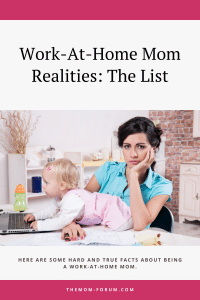 Here are some hard and true facts about working from home while being the primary caretaker of young children.