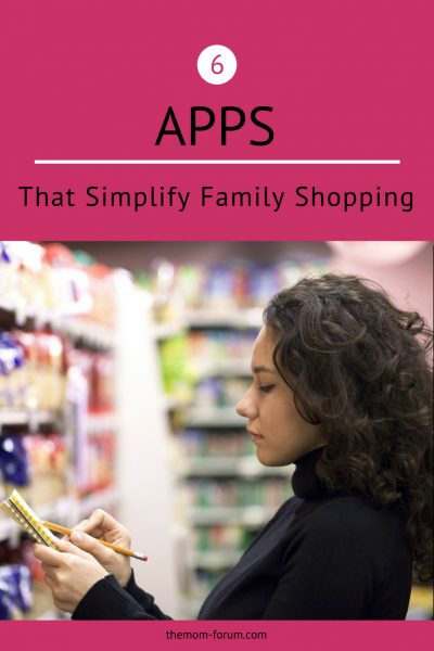 Admit it. If you could hire a personal assistant to do your shopping for the week, you would. Lucky for modern parents everywhere, we have some help in the form of apps and services. Here are six apps that simplify family shopping because they help me keep organized, save money and make shopping more fun.