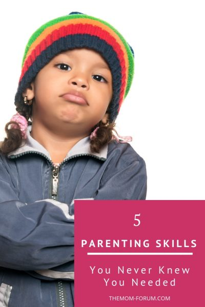 Everyone knows that there are quite a few standard parenting skills you need to get through day-to-day life with kids. However, this is a list of parenting skills you never knew you needed.