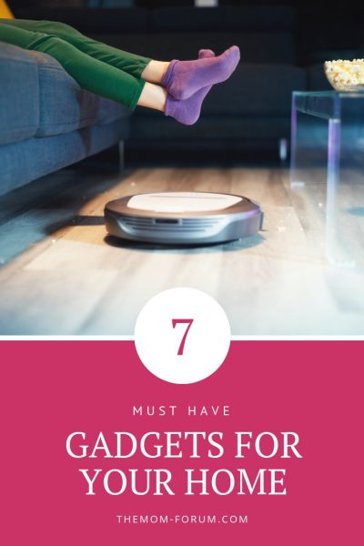 "We are all about making ""Mom Life"" easier by any means necessary. So here is a list of 7 must have gadgets for your home to help you be healthier and more organized. From kitchen tools to workout tech, technology can be a mom's best friend by taking things off our todo list and help us enjoy mom life a little more."