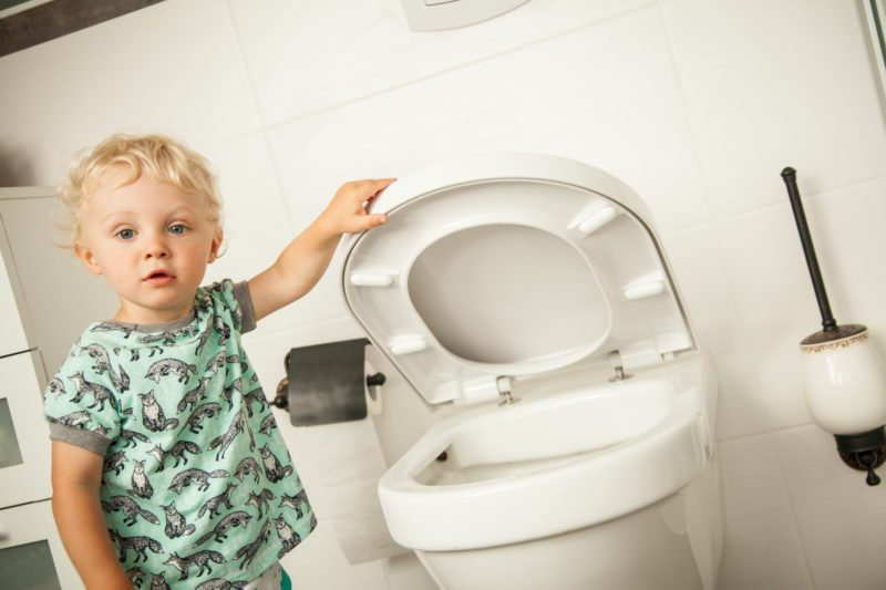 "A few days ago, we were grocery shopping and my daughter uttered, ""Mommy I have to pee."" My brain went numb.This level of potty consistency requires public bathroom use. There are several threats in public bathroom use. Particularly, the creepy, unfamiliar germs."