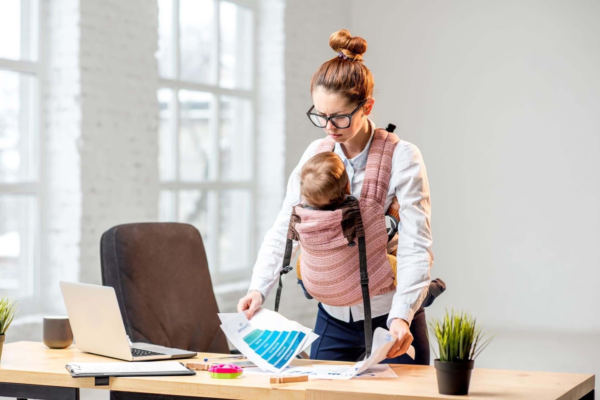 burden of moms