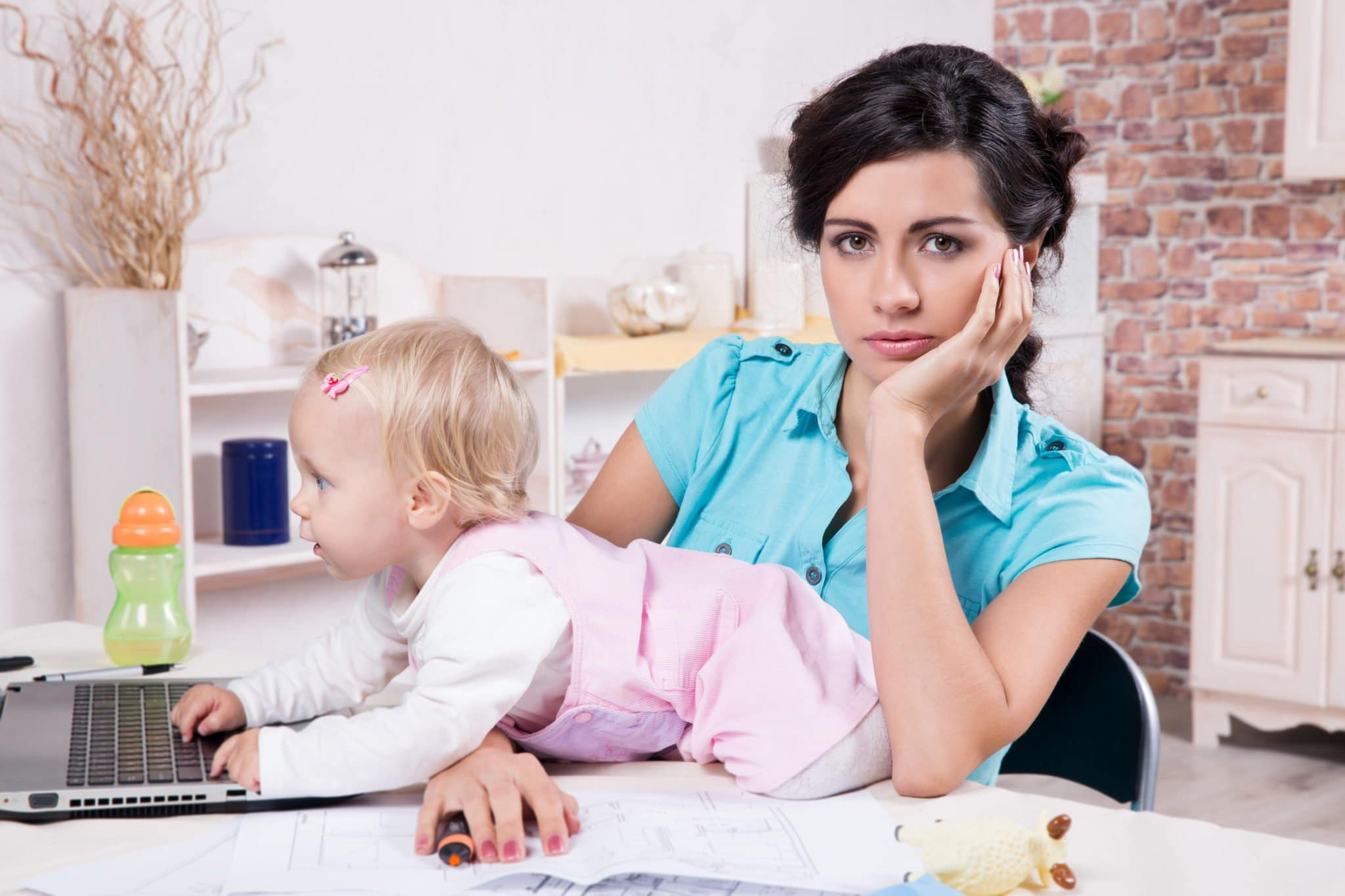 Here are some hard and true facts about working from home while being the primary caretaker of young children... Work-at-home Momr Realities...The list.