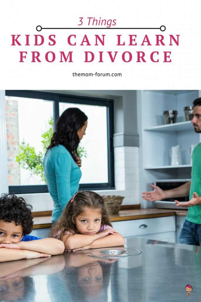 Outlining the 105 ways in which going through divorce hurts or damages one's self confidence or your kids is easy. So let's start a different thread of thought. Let's reframe the situation.  Let's outline 3 things kids can learn from divorce.