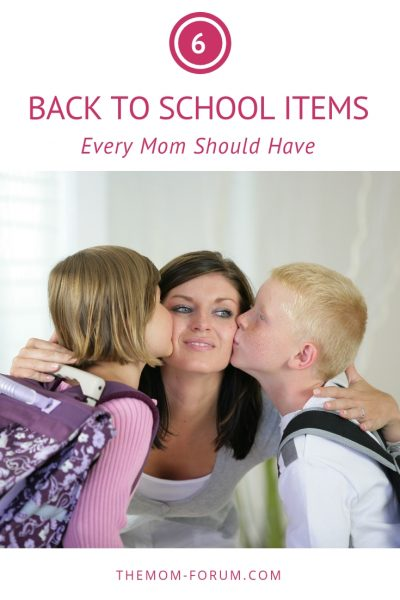 Are you organized and ready for the school year? Here are 6 back to school items every mom should have to help you survive at least until the Holiday break.