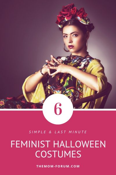 Easy and simple Halloween costume ideas for women that want to dress up as feminist like Rosie the Riveter, Frida Khalo, Beyonce, Serena Williams, Ruth Bader Ginsburg and Princess Leia. These can be put together last minute. Whether you are in to celebrities, cosplay, starwars, or pop culture there is a costume for you. All are appropriate for work, school or trick or treating and can be done for any female…toddlers, girls, teenagers, plus size. Halloween | Costumes | Feminist Costumes