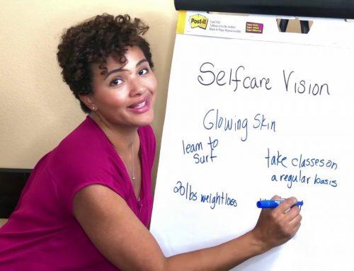 Selfcare Vision – Mom Selfcare Planner