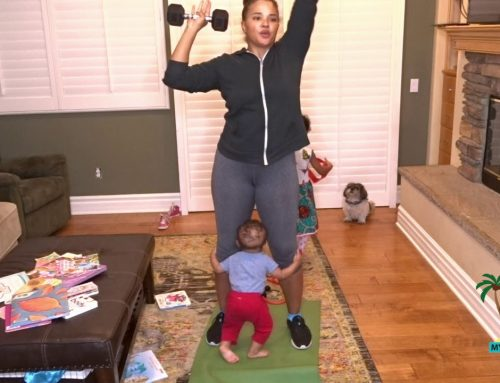 A Real Mom Workout With Kids