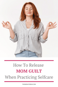 Let's talk about Mom Guilt…That's right. Mom guilt. So many moms suffer from mom guilt, myself included. I'm not saying that you should not feel mom guilt. Nor should you deny that you feel mom guilt because mom guilt is real. What I am saying is you can feel it, acknowledge it, and then release mom guilt.  Why? Because in most cases, mom guilt is completely unwarranted and unnecessary.  You pour so much into your families, the last thing you need to do is punish yourself with mom guilt when you pour into yourself.