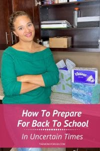 This fall, many of moms will be faced with a new reality when sending your kids back to school in these uncertain times. In addition to navigating the typical back to school transition, parents are also faced with preparing for unknown challenges that come with various forms of hybrid learning programs and distance learning. So, here are some tips on how to prepare for back to school in uncertain times.